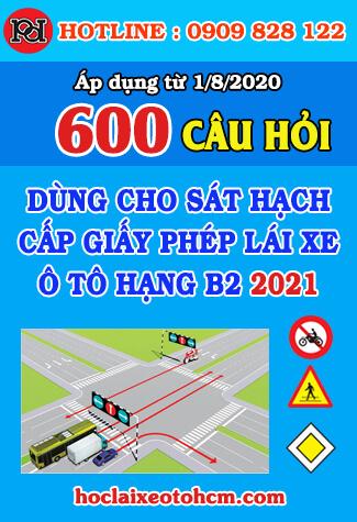 thi thử bằng lái xe b2 2021 18 bộ đề 600 câu hỏi