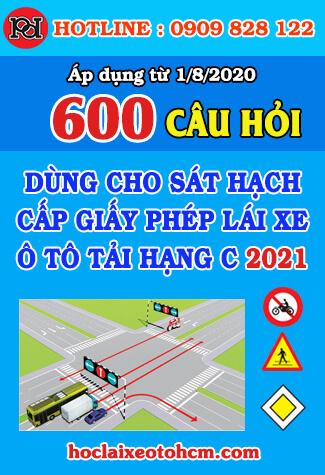 thi thử bằng lái xe hạng C 2021 18 bộ đề 600 câu hỏi
