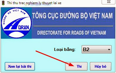tài liệu thi bằng lái xe b2