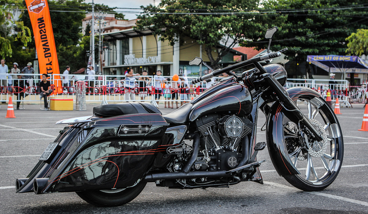 [Harley-Davidson] Xế độ đẹp nhất Vietnam Bike Week 2016 3830