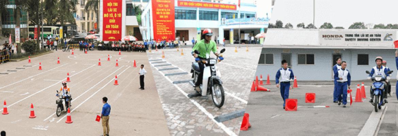 Thi bằng lái xe máy a1 quận Thủ Đức tphcm