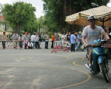 Thi bằng lái xe máy quận 3 tphcm