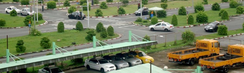 Sân học lái xe ô tô tại tphcm